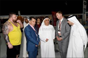 HE Mattar Al Tayer at Dubai Muscle Show