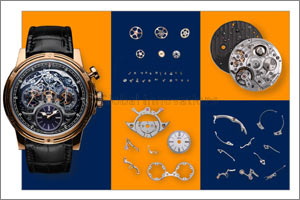 Switzerland wins a Good Design Award for the first chronograph-watch in history