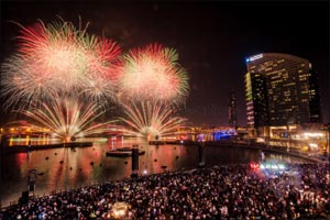 Four Fireworks Displays at Dubai Festival City Mall To Ring in the New Year