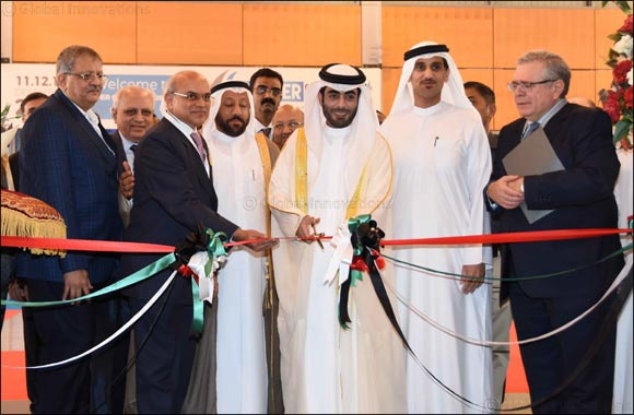 H.E. Sheikh Khalid Bin Abdullah Bin Sultan Al Qassimi inaugurates 3 specialized exhibitions at Expo Centre Sharjah