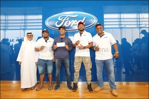 Al Tayer Motors Celebrates 100 Years of Ford Pick-up Trucks
