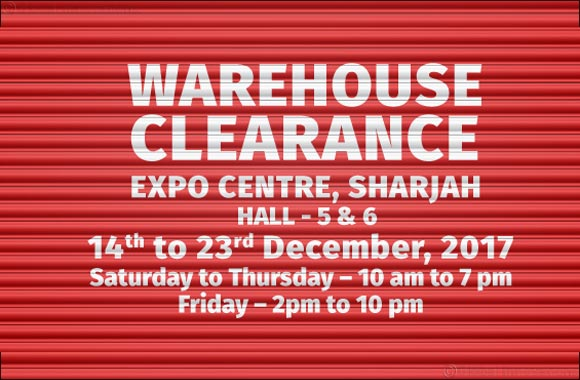 Refurnish for the holidays at the Warehouse Clearance Sale by PAN Emirates Home Furnishing