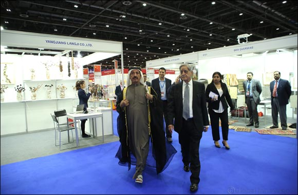 HH Sheikh Hasher Bin Maktoum Al Maktoum, Director General of Dubai Department of Information inaugurates International Autumn Trade Fair (IATF)
