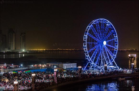 Dubai Festival City Mall  Adds 'Festival Wheel'  To the Dubai Creek Skyline