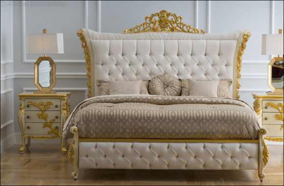 Imperial style bed from 2XL adds a touch of luxury