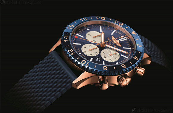 Breitling's Chronoliner B04 lands in the Middle East