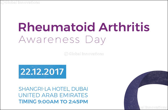 Middle East Arthritis Foundation shines the spotlight on Rheumatoid Arthritis