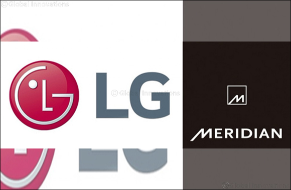 Lg Partners With Meridian Audio to Deliver High Performance Audio Solutions
