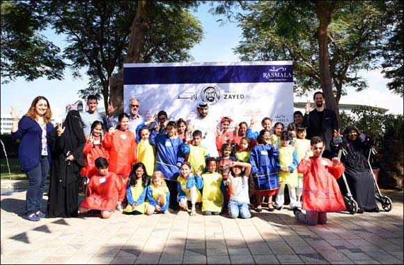 Awqaf and Minors Affairs Foundation with Rasmala Partners for 'Year of Zayed' Art Workshop