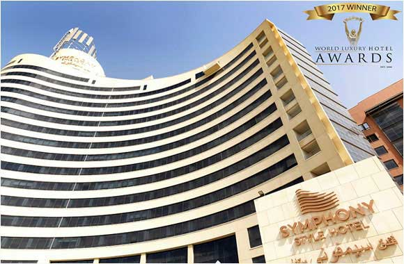 Symphony Style Hotel Kuwait named Best Luxury Family Hotel in Kuwait at World Luxury Hotel Awards