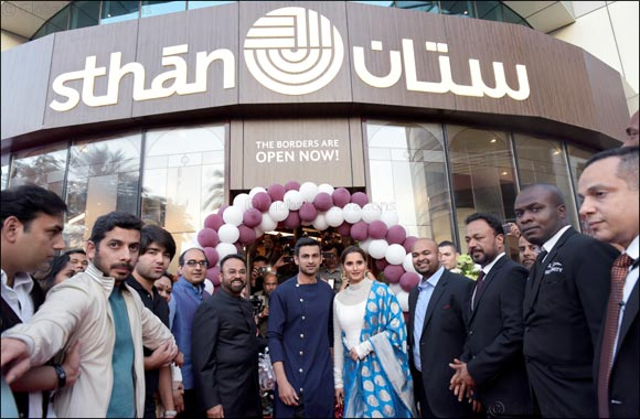 Sania Mirza and Shoaib Malik inaugurate Sthan, a restaurant serving authentic Frontier food from beyond borders