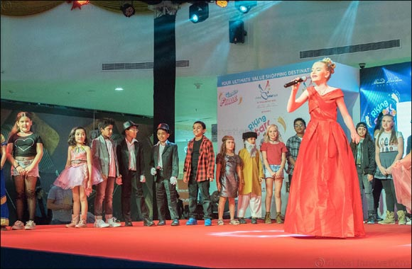 Rising Star 2017 show at Dubai Outlet Mall gives kids an ideal platform to showcase their creativity & aspirations