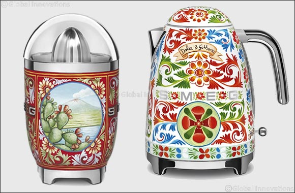 Better Life unveils 'Sicily is my Love' collection from Smeg and Dolce & Gabbana