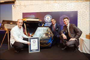Atlantis, the Palm and Amstur Caviar Break the Guiness World Record� Title for the World Largest Cav ...