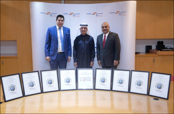 Mashreq Bank receives nine awards from Global Finance in London