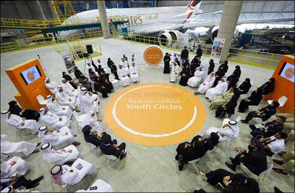 GCAA Hosts the first Aviation Youth Circle at Emirates Engineering Hanger