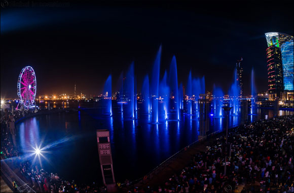 Over 100,000 People Attend Unforgettable  New Year's at Dubai Festival City