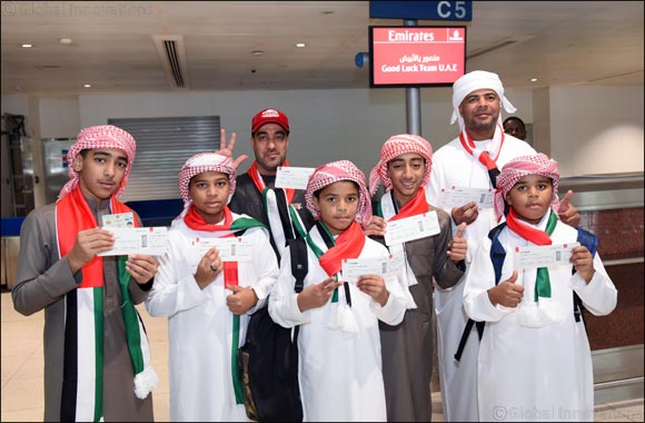 Emirates sends off UAE fans on special A380 flight to Kuwait