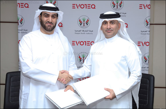 Evoteq and Sharjah Health Authority sign MoU to lead digital transformation of healthcare sector