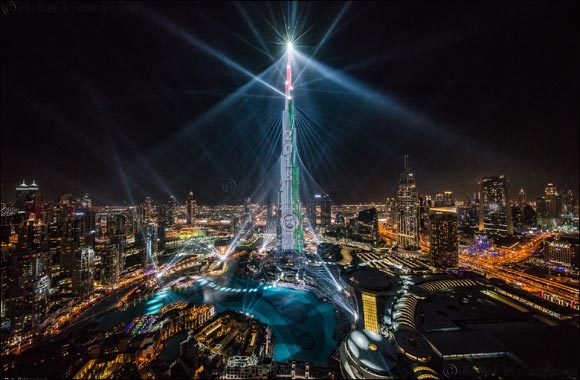 Emaar's 'Light Up 2018' Downtown Dubai show to continue until March