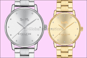 Coach presents the Grand Stainless Steel Bracelet Watch Collection