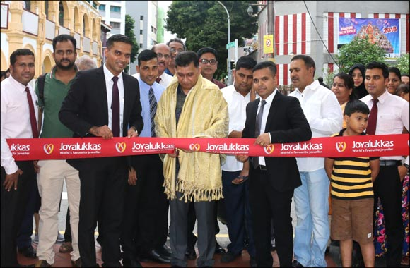 Joyalukkas grows presence in Singapore with new showroom on Serangoon Road