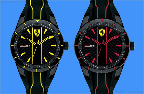 Scuderia Ferrari presents the latest RedRev Watch Collection