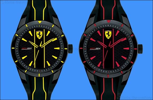 Scuderia Ferrari presents the latest RedRev Watch Collection