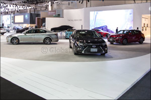 Lexus leads the Hybrid Electric Vehicle agenda in the UAE