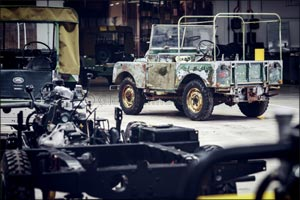 Land Rover's 70th Anniversary Begins With  Restoration of �Missing' Original 4x4