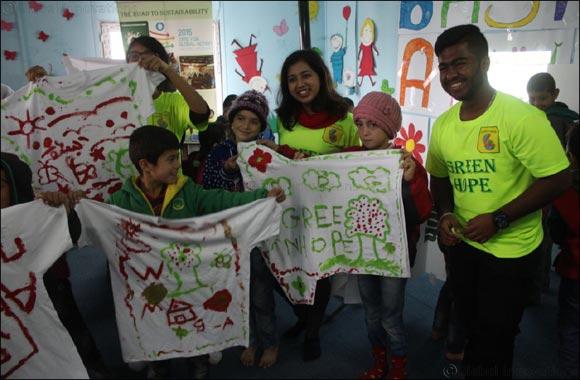 Green Hope empowers Syrian Refugee children