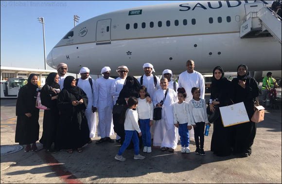 Awqaf and Minors Affairs Foundation Organizes Umrah Trip for 40 Minors, Mothers