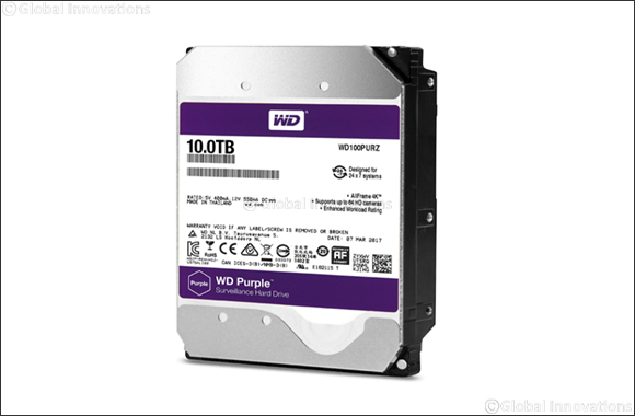 Western Digital Showcases Surveillance System Designed Hard Drives at Intersec 2018