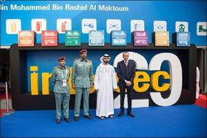 His Highness Sheikh Mansoor bin Mohammed bin Rashid Al Maktoum opens 20th edition of Intersec