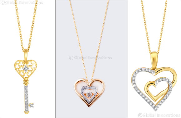 Pure Gold Jewellers Unveils Collection of Special Edition Diamond Pendants for Valentine's Day