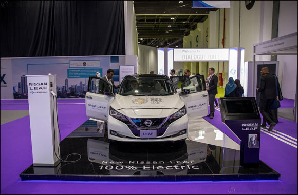 Electrification is the future and the present,  says Nissan at World Future Energy Summit 2018