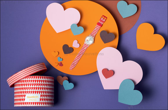 Hearty Love Is Everywhere – Swatch Presents Valentines Collection!