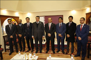 Qatar Development Bank participates in the 83rd International Green Week in Berlin