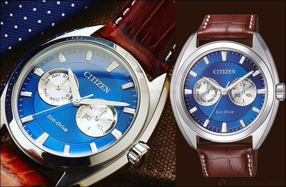Bold And Striking Beauty In Blue From Citizen