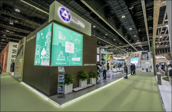 Rosatom showcased innovative energy technologies and solutions at the World Future Energy Summit in Abu Dhabi