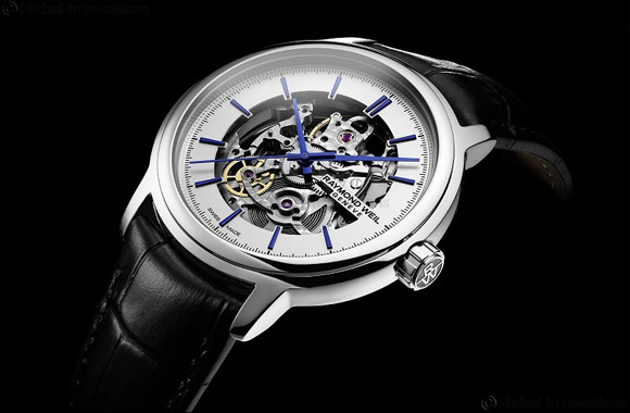 RAYMOND WEIL'S Maestro Skeleton the Essentials of Time