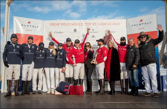 "The Maserati Polo Tour 2018 kicks off at the legendary  ""Snow Polo World Cup St. Moritz"" in collaboration with La Martina"
