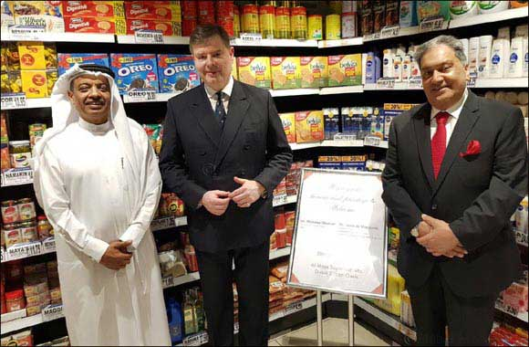 FIRST Scottish trade envoy visits Al Maya Supermarket in Dubai.