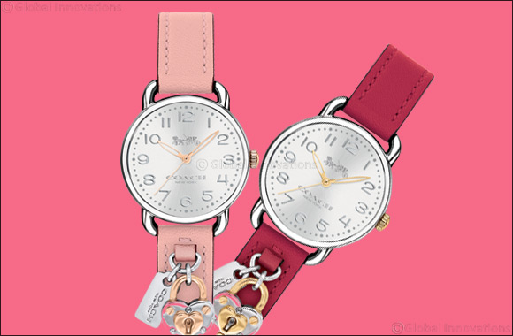 Coach Presents the Delancey Watch Collection