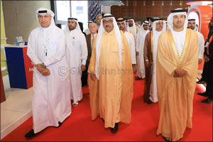 H.H. Sheikh Hamdan bin Rashid Al Maktoum Inaugurates  the 22nd edition of AEEDC Dubai