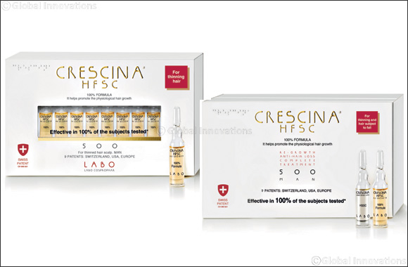 Combat Hair Loss and Re-grow Your Hair With Crescina HFSC 100% treatment Vials