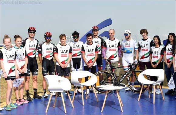 Students Fly the Flag for UAE Cycling at Dubai Tour