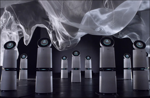 World-renowned Air Sculpture Artist Daniel Wurtzel collaborates with LG PuriCare™ air purifier