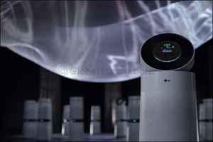 World-renowned Air Sculpture Artist Daniel Wurtzel collaborates with LG PuriCare� air purifier