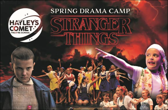 'Stranger Things' Spring Camp!